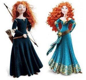 Merida Before and After