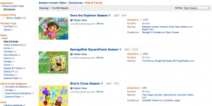 Miss Kids' Programming on Netflix? Check out Amazon Prime Instant Video