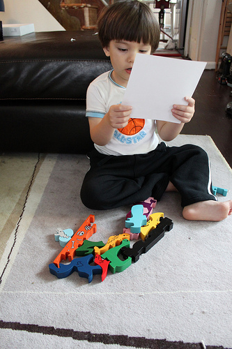 Kids and Puzzles